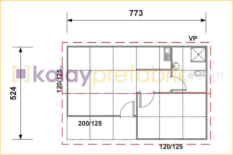 prefabrik-ev-40-m2-plani