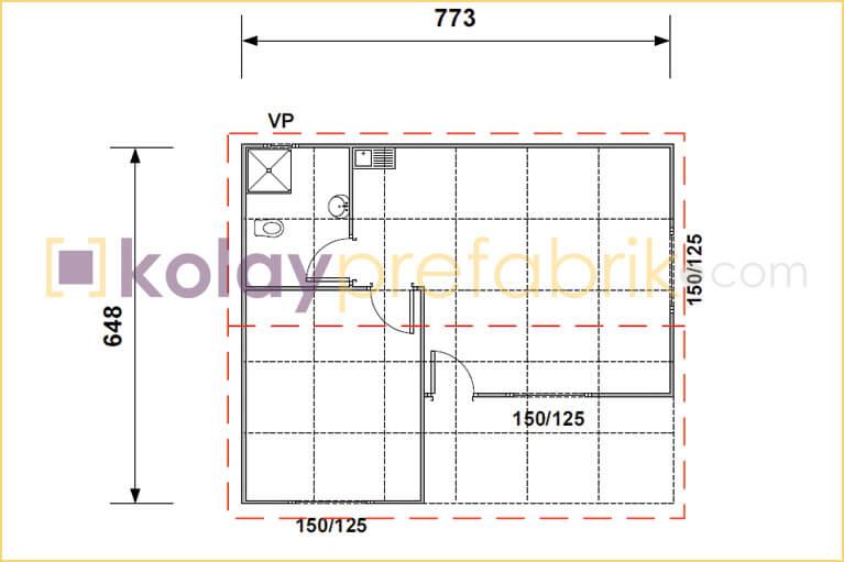 prefabrik-ev-50-m2-plani