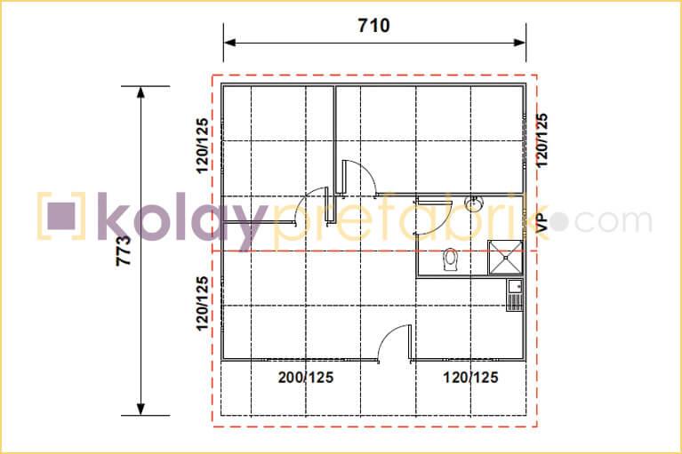 prefabrik-ev-55-m2-plani