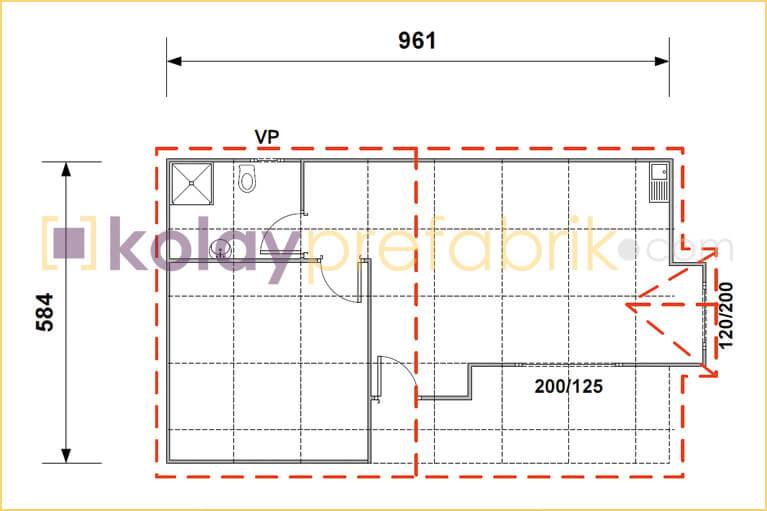 prefabrik-ev-57-m2-plani