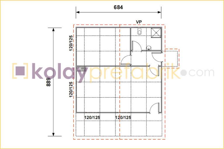 prefabrik-ev-63-m2-plani