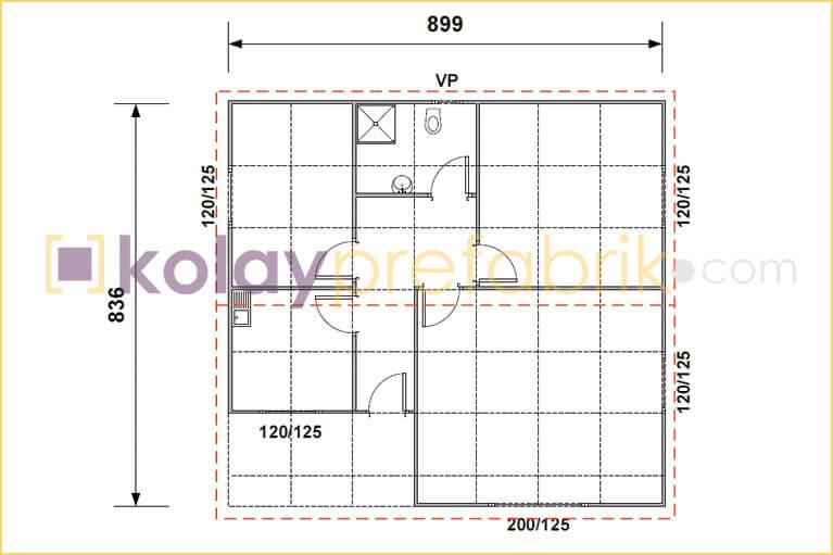 prefabrik-ev-75-m2-plani