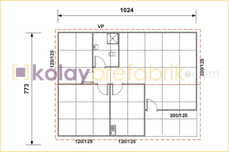 prefabrik-ev-79-m2-plani