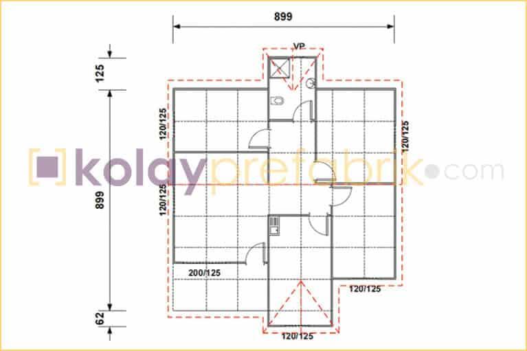 prefabrik-ev-85-m2-plani