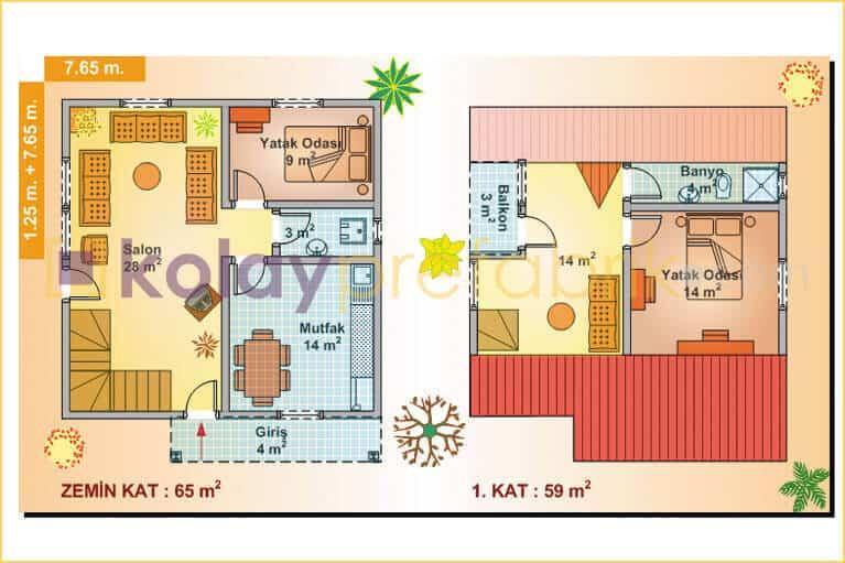 iki-katli-prefabrik-ev-124-m2-P124B-01D-plan