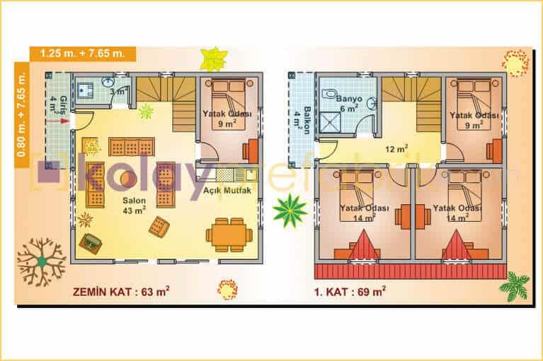 iki-katli-prefabrik-ev-132-m2-P132B-01D-plan