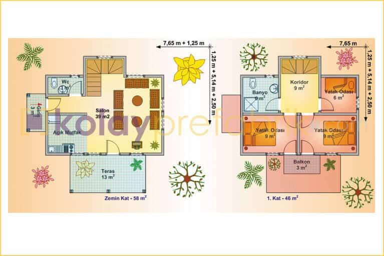prefabrik-ev-iki-katli-104-m2-P104B-01D-plan