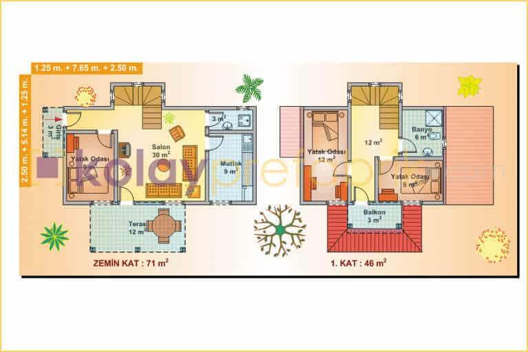 prefabrik-ev-iki-katli-117-m2-P117B-01D-plan
