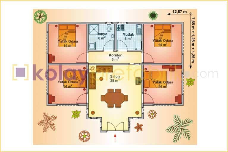 prefabrik-ev-tek-katli-106-m2-P106B-01T-plan