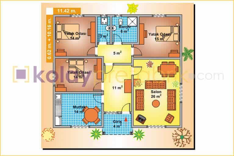 prefabrik-ev-tek-katli-118-m2-P118B-01T-plan