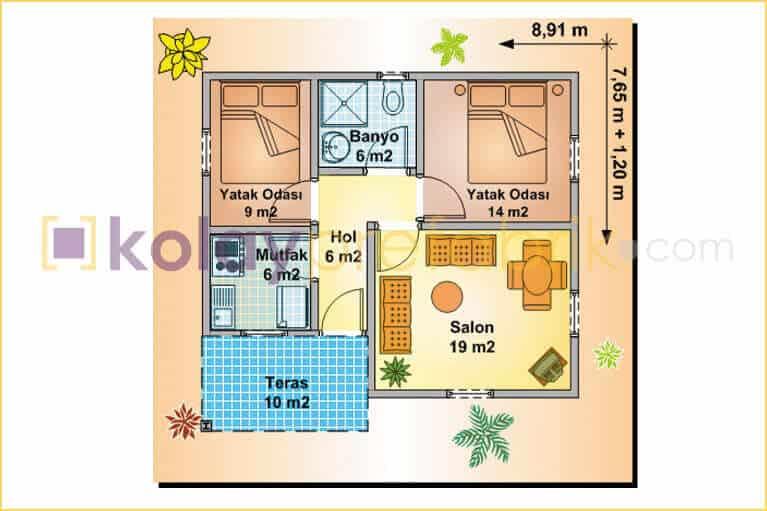 prefabrik-ev-tek-katli-73-m2-P73B-03T-plan