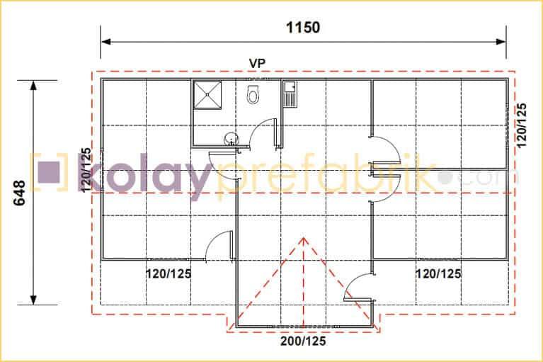 77-m2-one-story-prefabricated-house-floor-plan