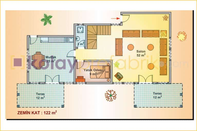 two-storey-prefabricated-house-252-m2-P252B-01D-second-floor-plan